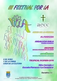 La AECC de Almuñécar celebra este viernes el III Festival por la Vida