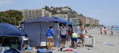 Almuñécar celebra San Juan con la ocupación de las playas sexitanas