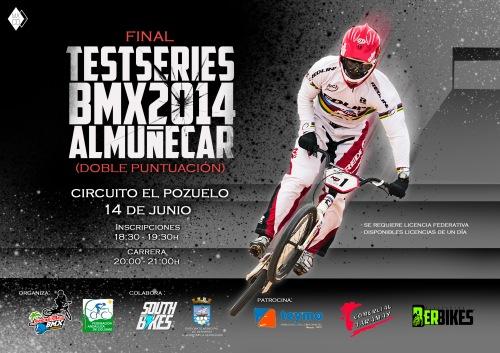Vuelve el BMX a Almuñécar con la disputa de la Test Series 2014