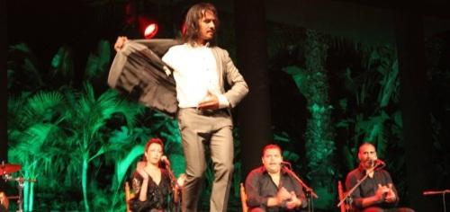 Actuación de Farruquito en el auditorio del parque El Majuelo de Almuñécar