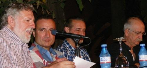 Poesía en La Najarra con los poetas valencianos Vicente Gallego y Carlos Marzal