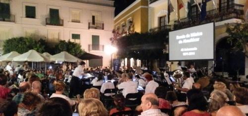 Gran actuación de la Banda Municipal de Música en su 40 aniversario