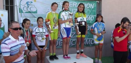La ciclista sexitana Isabel Rodríguez se proclama Campeona de Andalucía