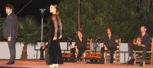 Éxito de Iván Vargas y Alba Heredia en el festival flamenco de La Herradura