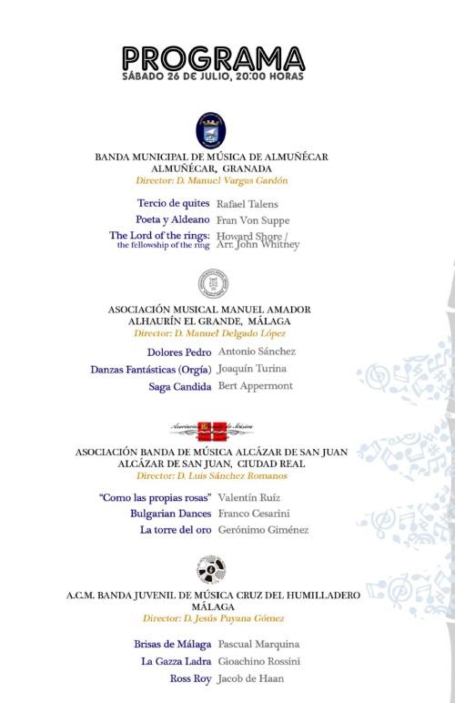 "II Certamen Nacional de Bandas de Música ""Cruz del Humilladero"" de Málaga"