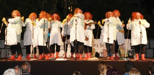 VIVA LA PEPI CHIRIGOTA EN FESTIVAL CARNAVAL LA HERRADURA 14 2