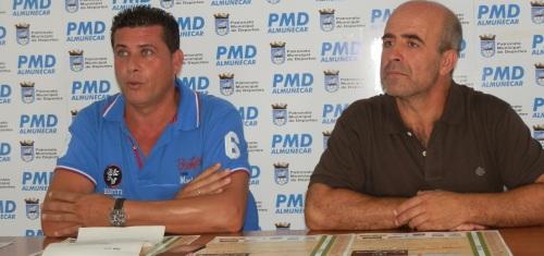 Almuñécar acoge el Campeonato Provincial de Tenis Playa