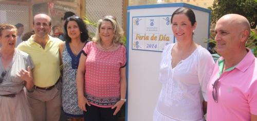 ALCALDESA Y CONCEJALES INAUGURON LA FERIA DE DIA DE ALMUÑECAR 14 2
