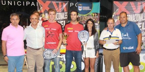 Javi Ruiz y Peli Espejo ganan el XVI Internacional de Andalucía de Pádel