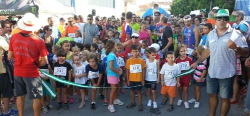 Participación de los más pequeños en la Carrera de la Vega de Almuñécar