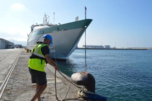 Oficios y personas del Puerto de Motril- Los amarradores 2