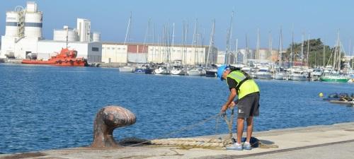 Oficios y personas del Puerto de Motril- Los amarradores