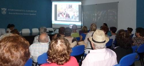 DVD de recuerdo para los mayores que viajaron al Campo de Gibraltar