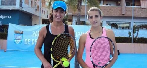 Jugadoras participantes en el XI Open de Tenis a la Amistad de Almuñécar