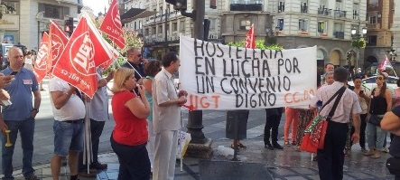 UGT y CCOO acudirán mañana al SERCLA del conflicto de Hostelería en Granada