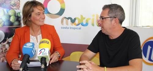 Luisa García Chamorro, alcaldesa de Motril, en una entrevista