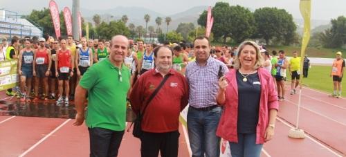 ALCALDESA DE ALMUÑECAR DIO LA SALIDA A LA PRUEBA 14