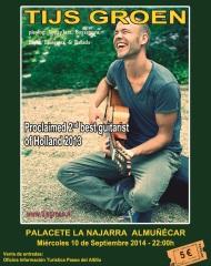 Concierto del gitarrista neerlandés Tijs Groen en el Palacete de La Najarra