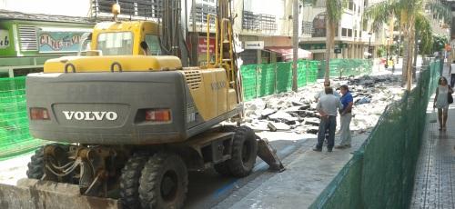 Comienza la segunda fase de las obras de la avenida de Andalucía