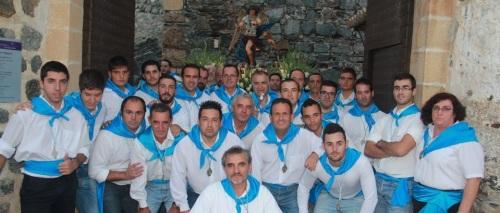 HORQUILLEROS DELANTE DE SAN MIGUEL ANTES DE LA SALIDA DEL CASTILLO 14