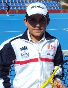 El tenista Javi Molino