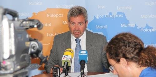 José García Fuentes, presidente de la Mancomunidad de Municipios de la Costa Tropical de Granada