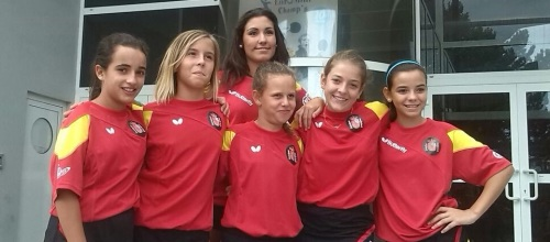 La palista Lucía López fue hizo historia al participar en el Euro Mini Champs