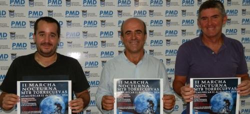 Presentación de la II Marcha Nocturna MTB Torrecuevas