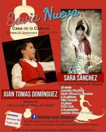 """Esta noche flamenco a cargo de """"Savia Nueva"""" en la Casa de la Cultura"""