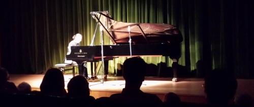 El pianista Pablo Ruiz ofreció un gran concierto en la Casa de la Cultura