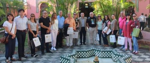 Agentes de viajes de Madrid conocen los recursos turísticos de Almuñécar