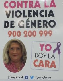 ALCALDESA ALMUÑÉCAR DA LA CARA CONTRA LA VIOLENCIA DE GENERO 14
