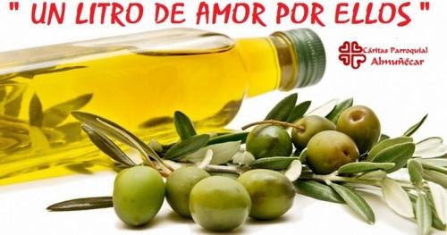 Campaña de recogida de aceite a beneficio de Cáritas Almuñécar