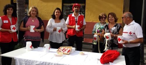 """Cruz Roja celebra hoy el """"Día de la Banderita"""" en el municipio sexitano"""