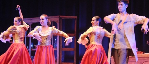 """Ballet Zambra pre-estrena con éxito en Almuñécar el espectáculo """"El Perfume"""""""