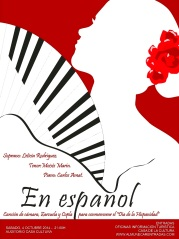 """Cartel de """"En español"""""""