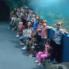 Alumnos de Loja de 4 años visitan el Acuario de Almuñécar