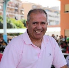 El deportista sexitano Miguel Rivas en el homenaje de CANDA