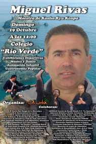 El deportista Miguel Rivas recibirá un homenaje organizado por CANDA