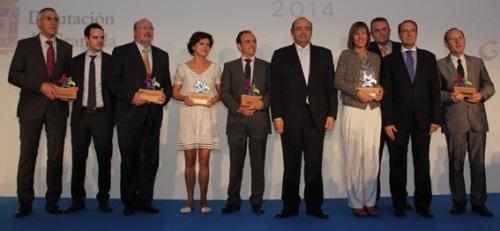 La Diputación Provincial entrega los Premios Turismo de Granada 2014