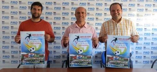 Presentación del V Mundialito Cofrade de fútbol 7 de Almuñécar que se celebrará el próximo día 19