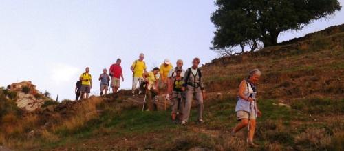 Senderistas hicieron la ruta entre Almuñécar y la Charca Suárez en Motril