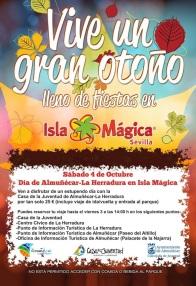 Cartel Día de Almuñécar - LaHerradura en Isla Mágica