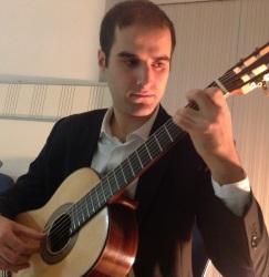 """Andrea Monarda (Martina Franca 1995, Italia), finalista en el XXX Certamen Internacional de Guitarra Clásica """"Andrés Segovia"""""""