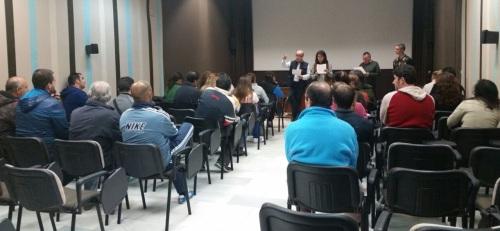 Acto de bienvenida a los 32 desempleados sexitanos contratados por el Ayto. de Almuñécar para labores de mantenimiento