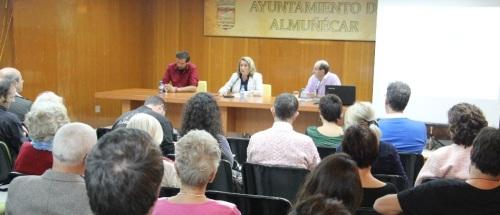 ACTO INAUGURAL JORNADA DE ARQUEOLOGIA E HISTORIA EN ALMÑUECAR 14