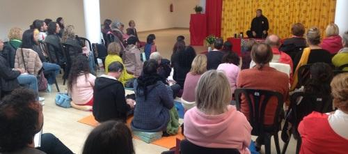 Interesante seminario del maestro budista Tulku Lobsang en La Herradura