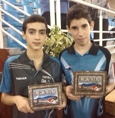 Adrián Antequera y María Marín consiguieron el pasaporte para el estatal de Tenis de Mesa que se celebrará el próximo mes de febrero en Valladolid