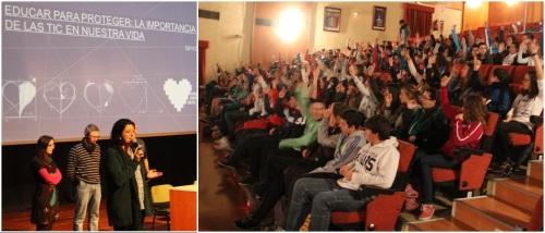 Andalucía Compromiso Digital informa sobre los riesgos de la Red a jóvenes sexitanos