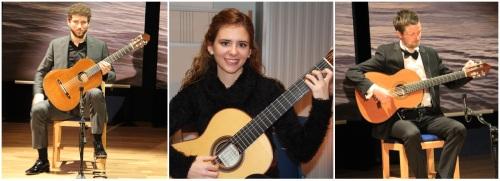 Foto: (de izq. a dch.) Sergio Calero Fernández (Sevilla); Isabel Mª Sánchez Millán (Córdoba); Chris Trueman (Reino Unido)